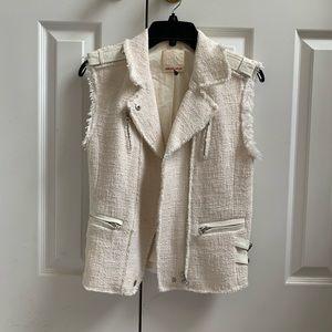 Rebecca Taylor White/Cream Vest